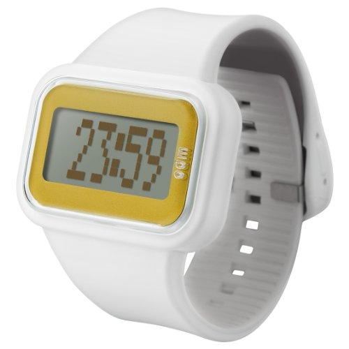 ODM Unisex-Armbanduhr Rainbow Box Set Digital Silikon weiß DD125A-6