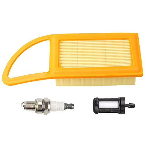 Air Filter Fuel Filter Spark Plug for BR500 BR550 BR600 Backpack blowers Replace 4282 141 0300 4282 141 0300B