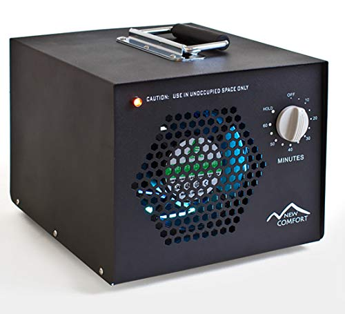 New Comfort Scratch and Dent Commercial Air Purifier Cleaner Ozone Generator with UV and 3 Year Warranty
