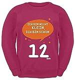 Hariz - Suéter para niños, diseño con texto en alemán 'Ich Bin Nicht Klein' rosa 12 años