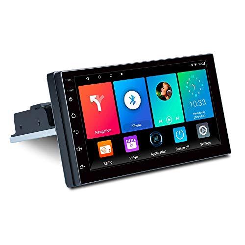Nrpfell 7 Pollici 1DIN Android 9.1 Autoradio Stereo Quad Core Multimediale Regolabile Lettore MP5 WiFi MirrorLink GPS