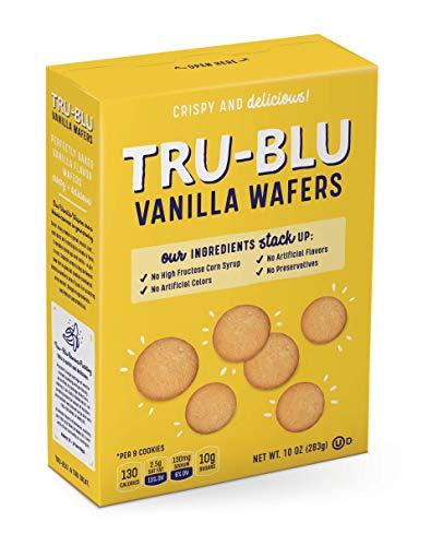 Tru-Blu Vanilla Wafers, 10 Ounce (Pack of 3) Vegan NOT GF