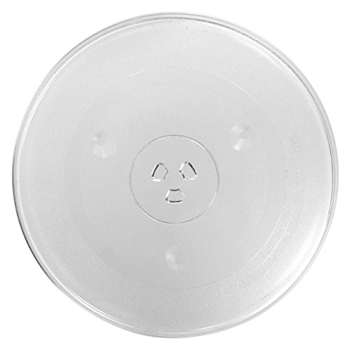 SPARES2GO 315 mm / 12¼' Glass Turntable Plate for Kenwood Microwave Ovens