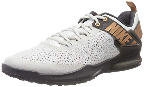Nike Herren Zoom Domination Tr 2 Cross-Trainer, Grau (Platinum Tint/Metallic Copper 007), 42 EU
