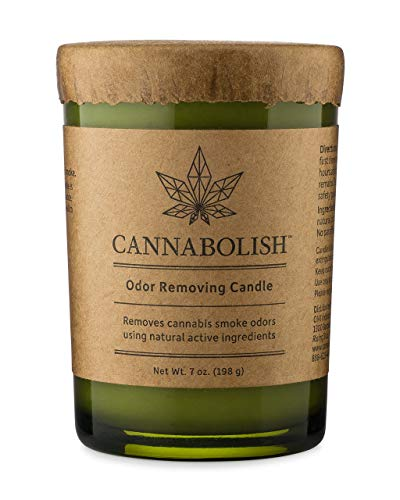 Cannabolish Smoke Odor Eliminating Candle, 7 oz, Natural Ingredients