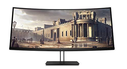 HP Z38c 37.5' Ultra-Wide Quad HD+ IPS Negro Pantalla para PC - Monitor (95,2 cm (37.5'), 3840 x 1600 Pixeles, LED, 5 ms, 300 CD/m², Negro)
