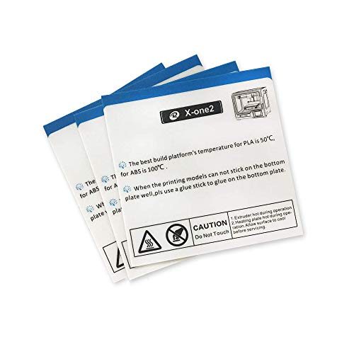 Platform Sticker for QIDI TECH X-ONE2 3D Printer: 3 pcs kit