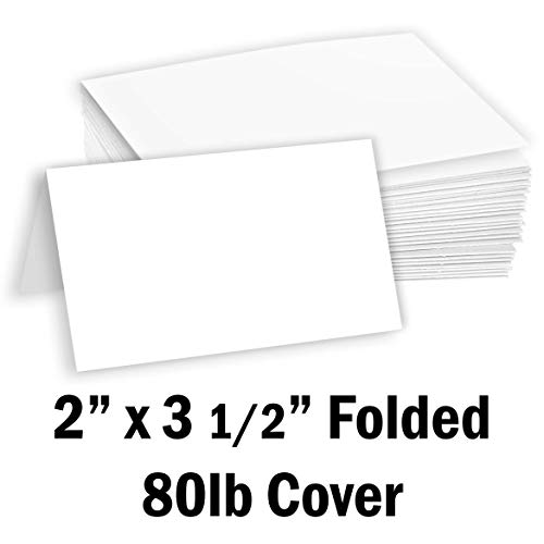 "50 pack 100/% Recycled Brown Kraft 3/""x8/"" Tall Slim Cards with Envelopes Free P/&P"