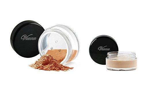Veana Mineral Line Lidschatten plus Eye Primer tan, 1er Pack (1 x 10 g)