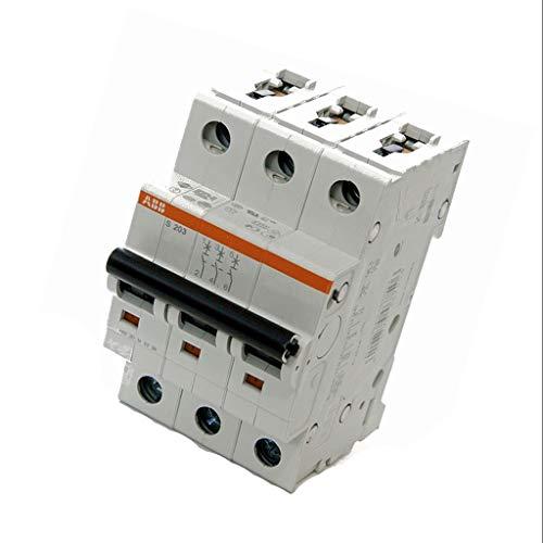 S203-C63 Overcurrent breaker 400VAC Inom63A Poles no3 Mounting DIN ABB
