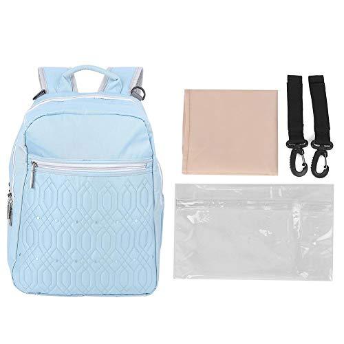 YOUTHINK Bolsa de pañales para bebés multifunción Mochila de Momia Impermeable al Aire Libre para Mujeres Embarazadas para niños y niñas-Navy Mom (Azul)(Azul)