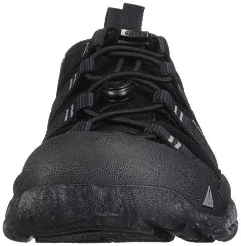 KEEN Men's Newport H2 Sandal Water Shoe, Black/Swirl Outsole, 15 M US