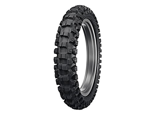 Dunlop MX52 Geomax Intermediate/Hard Terrain Tire 90/100x14 - Fits: Honda CR80R 1980-2002