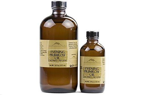 Mountain Rose Herbs - Overseas parallel import regular item Evening National uniform free shipping oz Primrose Oil 4