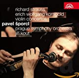 Strauss/Korngold: Conciertos De Violin/ Sporcl, Prague Symphony Orchestra. Kout