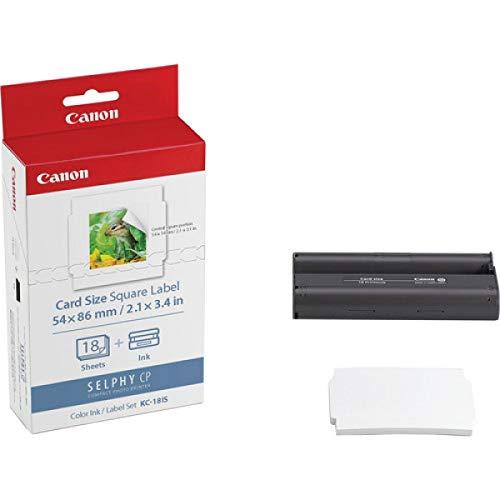 Canon KC-18 IS 5 x 5cm Sticker-Papier für Selphy Drucker