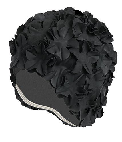 Latex Swim Cap - Women Stylish Swimming Cap Great for Ladies, Perfect to Keep Hair Dry - Suitable...