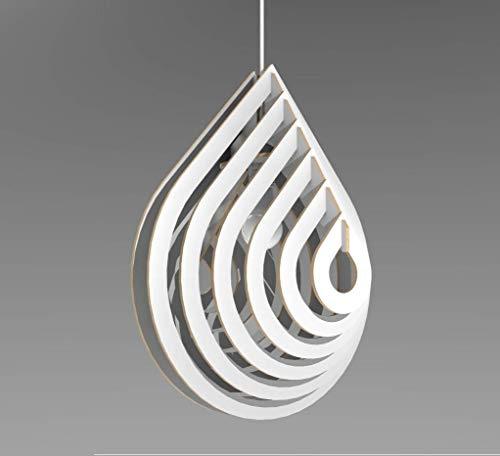 Lampadario moderno Design goccia 3D Lampada Sospensione Soffitto Arredamento