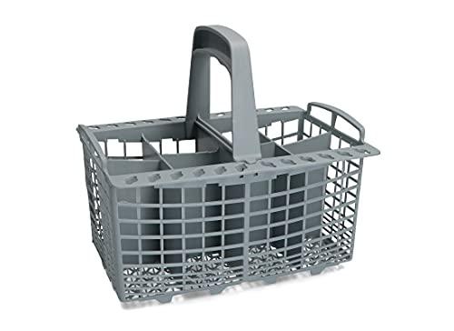 Cesta para cubiertos para lavavajillas apta para varias marcas