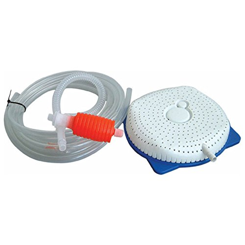 Pool Style Siphon Cover Pump with Manual Priming Bulb