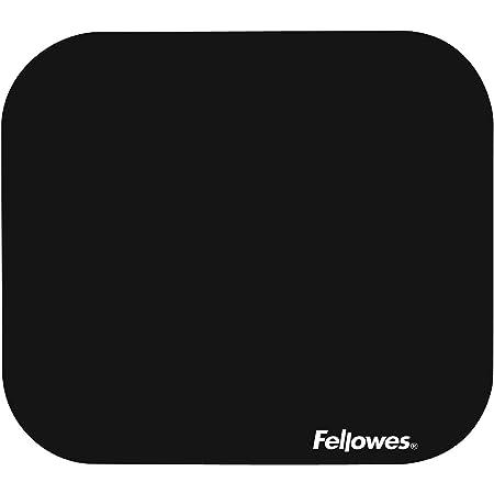 Fellowes 58024 Tapettino per Mouse Soft in Blister, Nero