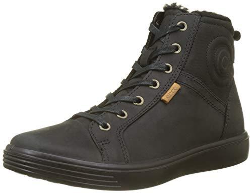 ECCO S7, Sneaker a Collo Alto Unisex-Bambini, Nero (Black 51052), 35 EU