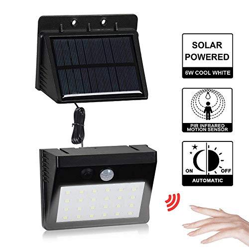 Vmipart Aparte wandlamp op zonne-energie