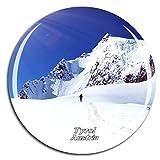 Weekino Österreich St. Anton Ski Resort Tirol Kühlschrankmagnet 3D Kristallglas Touristische Stadtreise City Souvenir Collection Geschenk Starker Kühlschrank Aufkleber