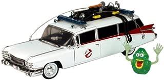 ERTL Ghostbusters Joyride DIE CAST 1:21 ECTO 1 A - w/ Exclusive Slimer