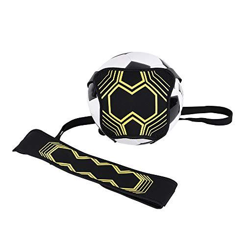 TTMOW Fußball Kick Trainer Solo Fußball Trainingshilfe mit Verstellbarem Taillengürtel,Freihändiger Fußballtrainer Waist Belt,Trainingshilfe für Kinder und Erwachsene
