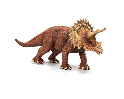 Dinosaurier-Spielzeug Triceratops Open Mouth Jurassic Welt Spielzeug große statische Plastikdinosaurier Modell für Kinder Jungen Simulation Geschenk