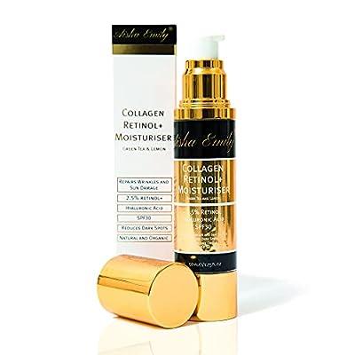 Retinol Pro Face & Eye Cream | Hyaluronic Acid|100% Pure Natural & Organic |Vitamins A,C & E| High Strength Anti Ageing Formula |Day/Night|Acne|Wrinkles|Fine Lines Vegan Friendly by Shojol