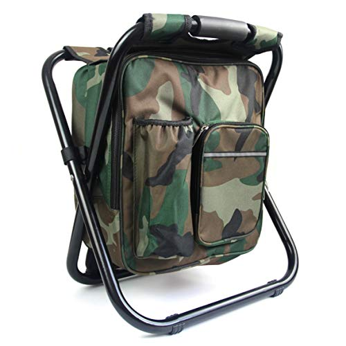 Easy Funny 2 in 1 Fishing Hunting Stool Backpack Rucksack Seat Chair Bag...