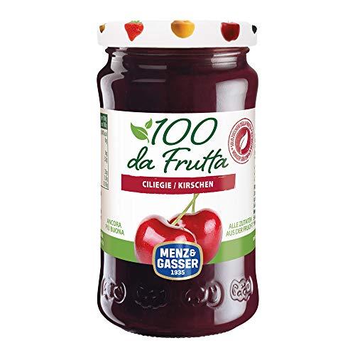 MENZ&GASSER Composta 100Dafrutta Ciliegia, 100% Frutta, 240 Grammi