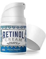 LilyAna Naturals Retinol Cream for Face - Retinol Cream, Anti Aging Cream, Retinol Moisturizer for Face, Wrinkle Cream for Face, 2.5% Retinol Complex - 1.7oz