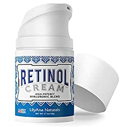 Retinol Cream Moisturizer for Face and Eyes