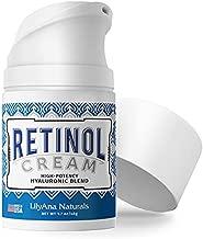 LilyAna Naturals Retinol Cream for Face - Made in USA, Retinol Cream, Anti Aging Cream, Retinol Moisturizer for Face, Wrinkle Cream for Face, Retinol Complex - 1.7oz