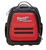 MILWAUKEE'S Tool Backpack,Red/Black,48 Total Pockets (48228301)