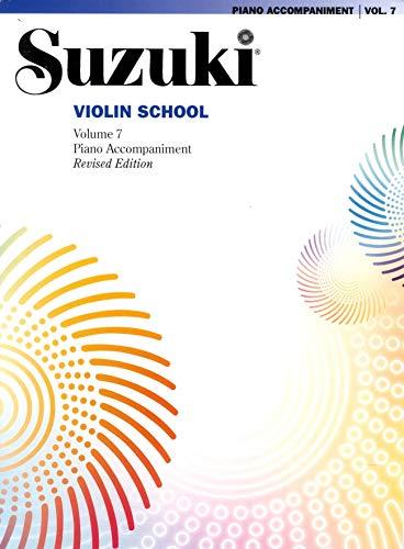 Suzuki Violin School Piano Accompaniment, Volume 7 (Revised)