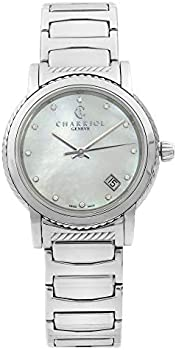 Charriol Parsii Diamond White Mother of Pearl Dial Ladies Watch