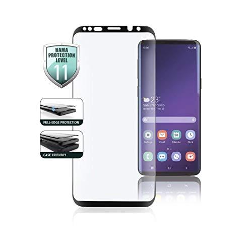 Hama Full-Screen 3D Schutzglas für Samsung Galaxy S10E, Schwarz