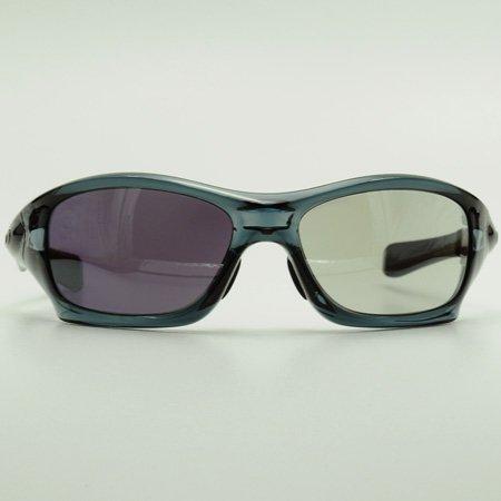 GOODMAN LENS MANUFACTURE(グッドマンレンズマニュファクチュア) OAKLEY(オークリー) PITBULL(ピットブル)用レンズ ライトグレー→グレー調光 シルバーミラー(サングラス 眼鏡 メガネ)