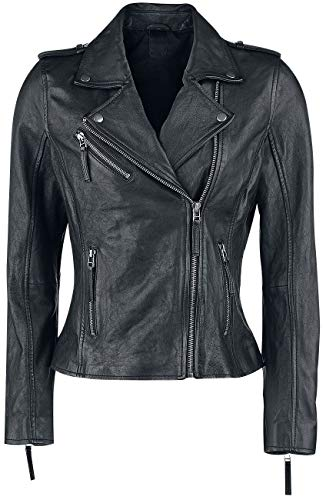 Black Premium by EMP All Over The Road Frauen Lederjacke schwarz S 100% Leder Basics, Biker