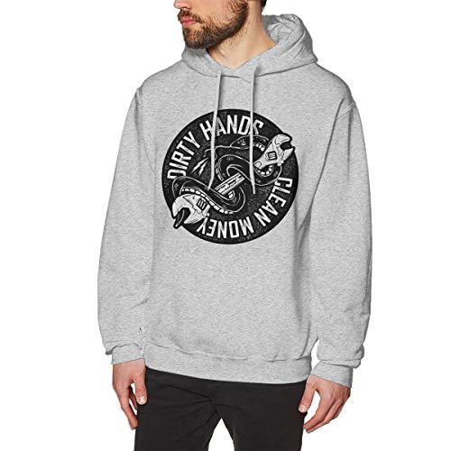 dirty hands clean money 4 men's performance pullover hoodie sweatshirt  bekleidung herren pullover c 21_30 #4