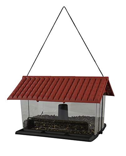 Vogelfutterhaus Vogelfutterspender Vogelfuttersilo Vogelhaus Futterhaus Vogelhäuschen