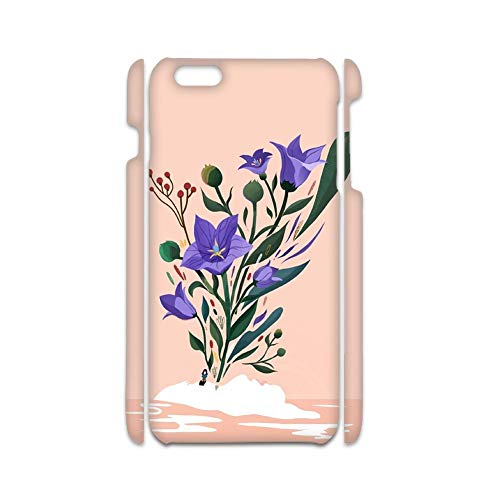 Cases Abs Compatible iPhone 6 Plus 5.5Inch Protect For Children with Flower 1 Choose Design 129-1