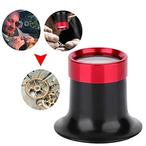 Uhrmacherlupe, Aluminiumlegierung 10X Augenlupenreparatur, Lupe für Uhr, Schmuck ,Münzen