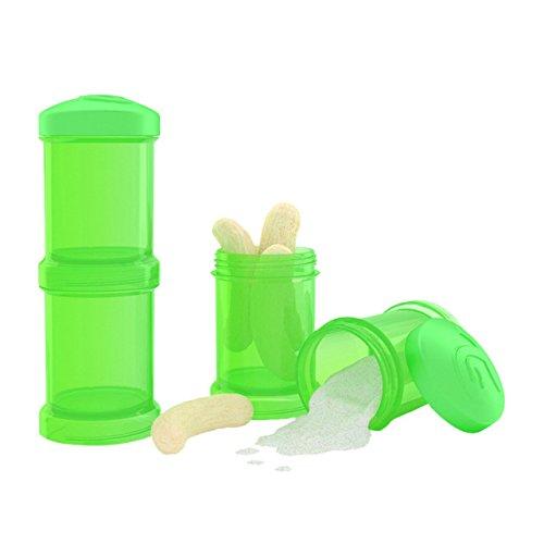 Container Duplo 100 Ml, Prime Baby, Verde