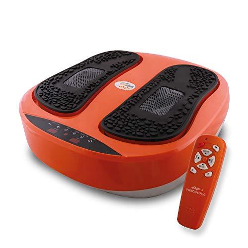 Global VibroLegs - Plataforma vibratoria para masaje de piernas (antideslizante)