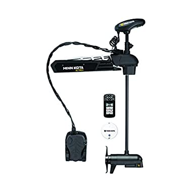 Minn Kota 1368866 Ultrex Trolling Motor-24V, 80 lbs. 52 Shaft with MEGA Imaging and i-Pilot Link GPS